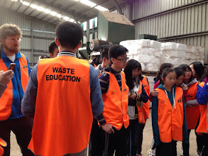 Photo: Day 11: Resource Recovery Centre