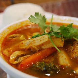 Vegetarian Tom Yum Soup Recipe