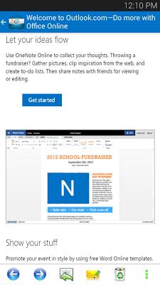 Inbox for Hotmail - Outlook - screenshot