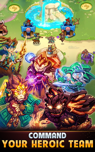 Kingdom Defense: Hero Legend TD (Tower Defense) 1.1.0 screenshots 10