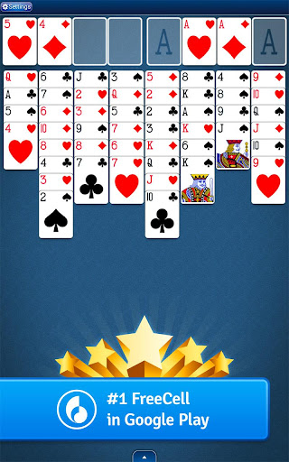 FreeCell Solitaire  gameplay | by HackJr.Pw 15