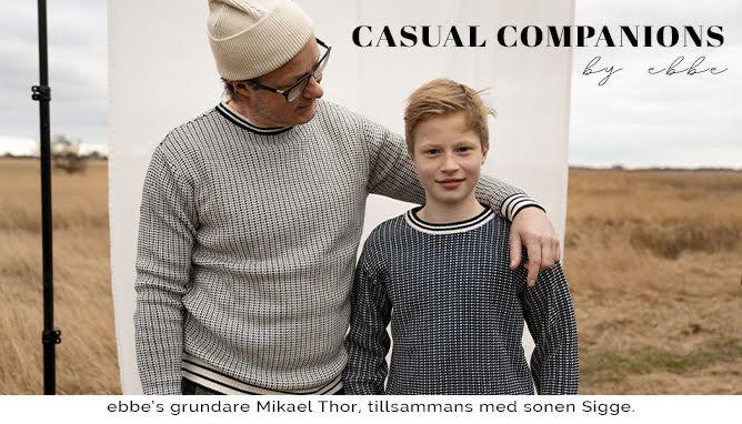 Casual Companions by ebbe - vår första vuxenkollektion