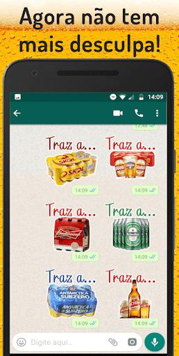 Figurinhas de cerveja - WAStickerApps screenshot 3