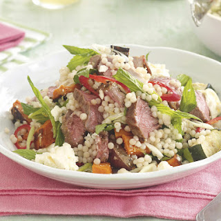 Lamb, Squash and Feta Couscous