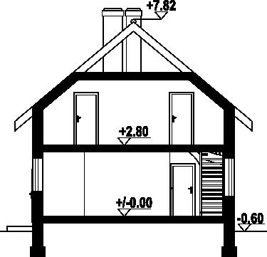 Wąsowo wąskie mk1 - Przekrój