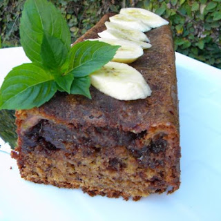 Banana Bread with Nutella Streusel
