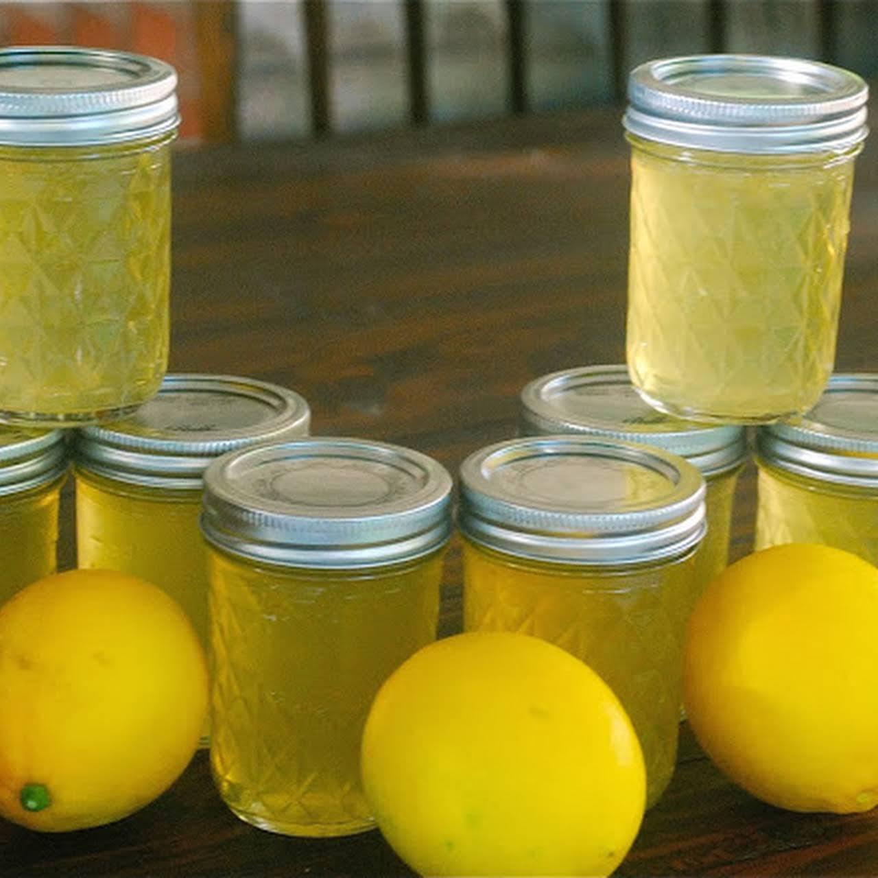 Meyer Lemon with Vanilla Jelly