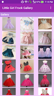 Little Girl Frock Gallery - náhled