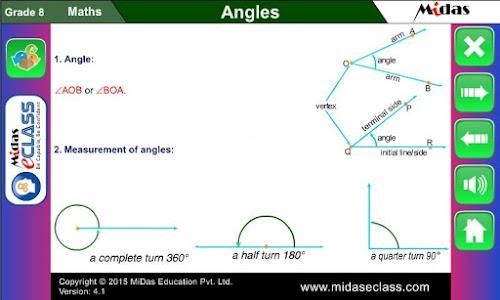 MiDas eCLASS Maths 8 Demo screenshot 3