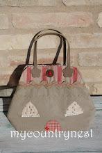 Photo: heart house bag