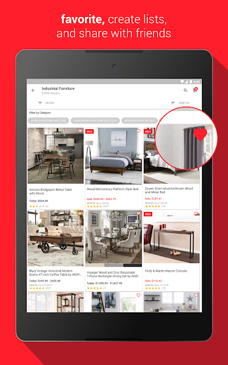 Screenshot 7 for Overstock.com's Android app'
