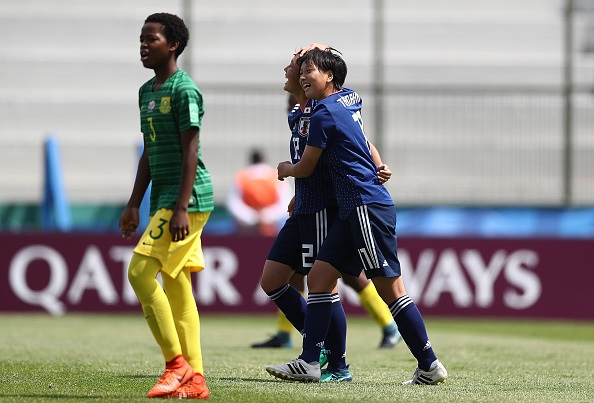 South Africa was humiliated 6-0 by Japan in their second match of the Fifa U17 World Cup