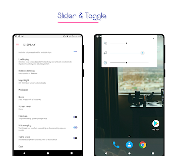 FreshUi Light Substratum Theme Screenshot