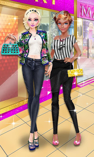 Glam Doll Salon: BFF Mall Date 1.5 screenshots 1