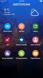 Amsterdam Travel Guide- screenshot thumbnail