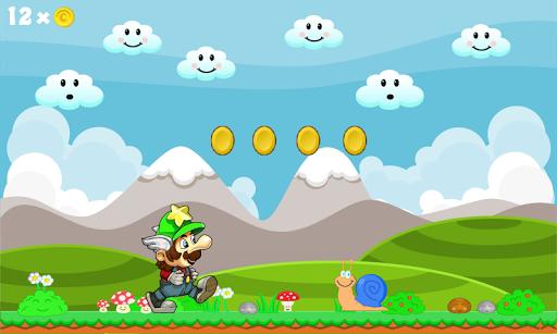 Super Andrio in Mario World
