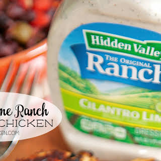 Cilantro Lime Ranch Grilled Chicken.