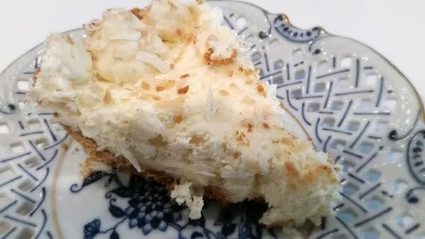 ~ Coconut Cream Cheese Pie ~ Easy Recipe