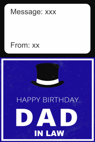 Birthday Card Father In Law screenshots 1