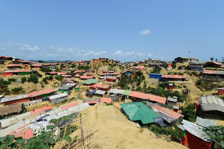 This photograph taken on April 9, 2018, shows a general view of the Kutupalong refugee camp in Bangladesh's Ukhia district. In a tragic race against time, aid workers are scouring the world's largest refugee camp for Rohingya women and girls raped by Myanmar troops before they could flee a brutal crackdown.