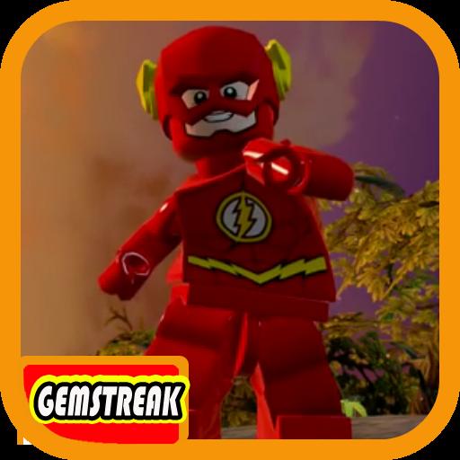 Gemstreak Of Lego Flash Heroes