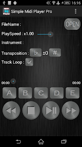 Simple Midi Player Pro screenshot 0