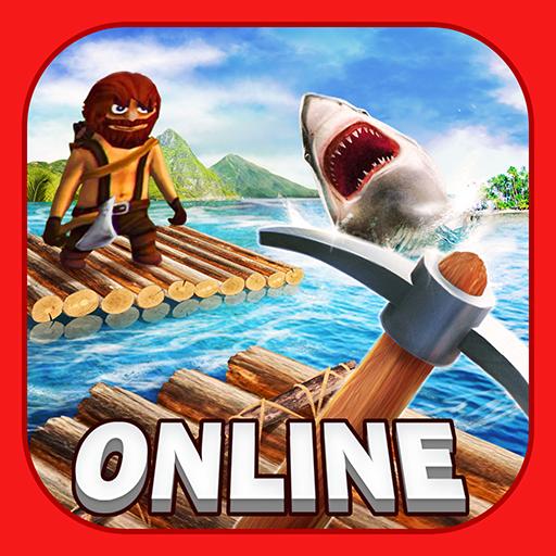 Survival on Raft Online War PRO