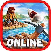 Survival on Raft Online War PRO