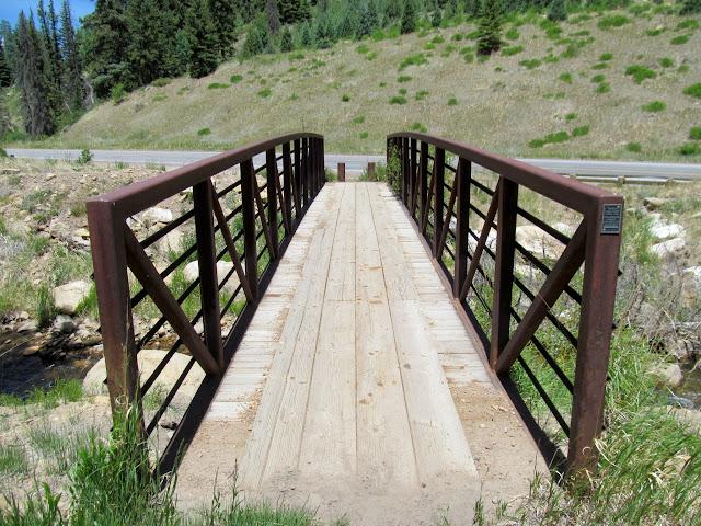 Bridge over Huntington Creek
