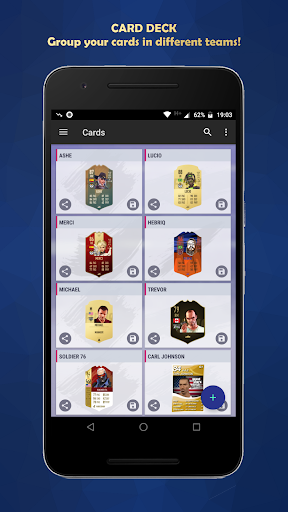 FUT Card Builder 20 5.3.9 screenshots 2
