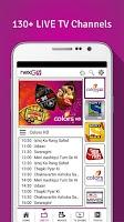Screenshot of nexGTv Live TV Movies Cricket