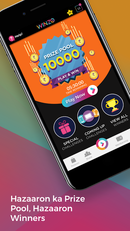 WinZO - Play and Win for Free- screenshot