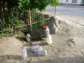Photo: I takhle se zásobujeme pitnou vodou.
