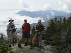 Photo: The three of us on Whiteface. Photo courtesy of Dave Socky