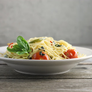 Cherry Tomato Basil Angel Hair Pasta