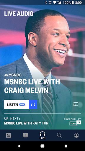msnbc live audio