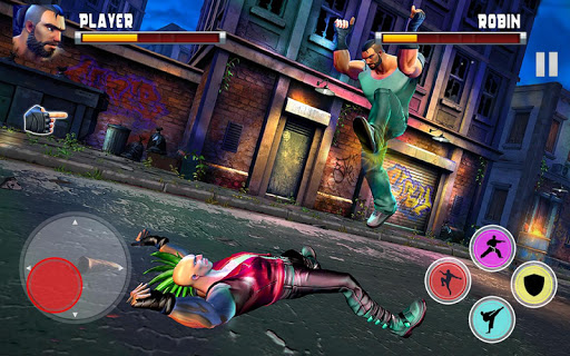 Kung Fu Commando 2020 : New Fighting Games 2020 apkslow screenshots 9