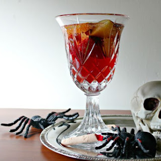 Blood Red Mocktail for Halloween