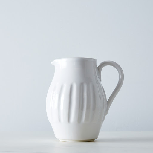 Textured Porcelain Pitchers