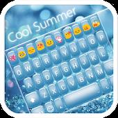 Cool Summer Emoji Keyoard