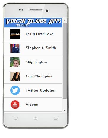 ESPN First Take Mobile