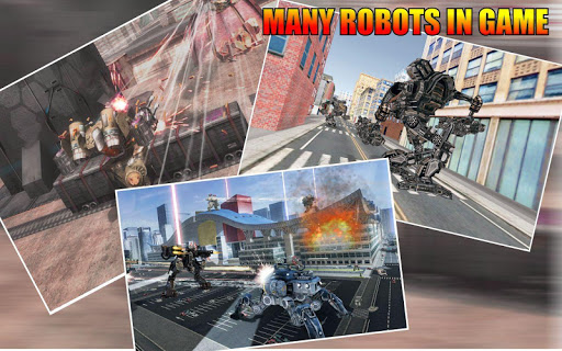 War Robots 2018: New Futuristic Battle Robots War  screenshots EasyGameCheats.pro 3