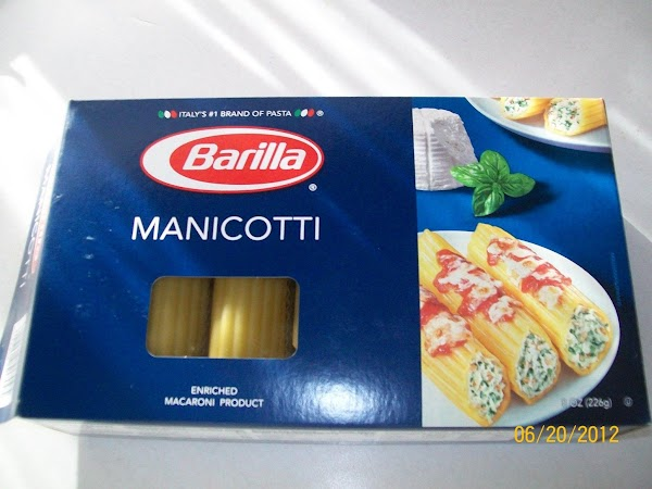 Boil pasta for about 3 minutes in salted water. Remove carefully and rinse to...