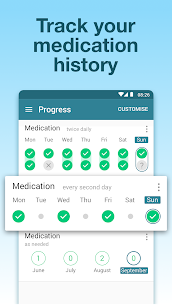 Pill Reminder & Medication Tracker – MyTherapy App Latest Version Download For Android and iPhone 4