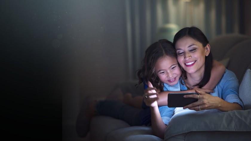 Vision Guard protege de la luz azul dañina emitida por los móviles.