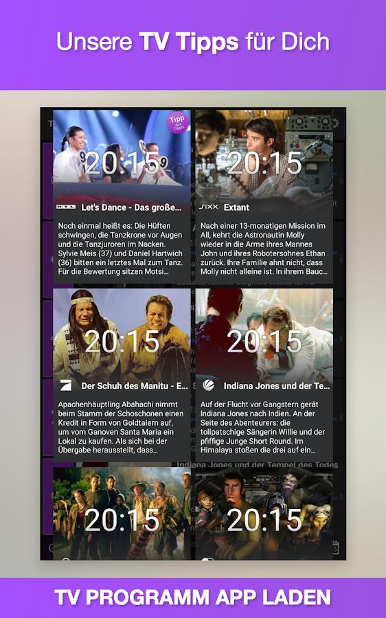 TV-Programm App heute- screenshot