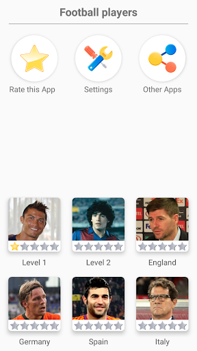 Soccer Players - Quiz about Soccer Stars! screenshots 1
