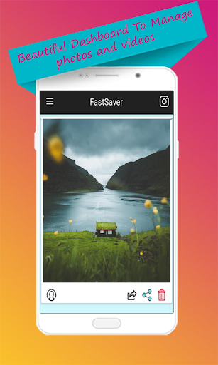 Download photo & video for instagram  - FastSaver 1.0 screenshots 1