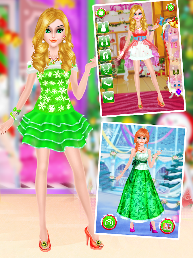Christmas Makeover Girls Game- screenshot