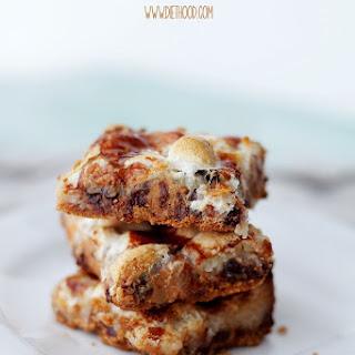 Peanut Butter Marshmallow Magic Bars